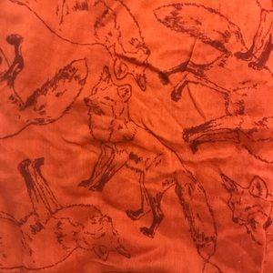 NWOT UO Fox Infinity soft light summer scarf